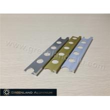 Aluminum Straight Edge Trim in Three Popular Colors