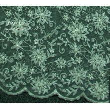 Ceinture bordée Desgin avec tissu en dentelle avec broderie Robe de mariée / Robe de mariée LaceNo.CA051B
