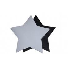 Velvet Floor Mat-Star Shape Sublimation Blank Floor Mat