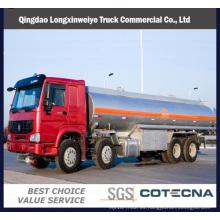 Carretilla cisterna de combustible de la capacidad pesada de Sinotruk HOWO 8X4 35m3