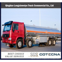 Caminhão de petroleiro pesado do combustível de Sinotruk HOWO 8X4 35m3 da capacidade