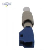 luva cerâmica de alta precisão único modo FC-LC macho para feminino acoplador de fibra óptica