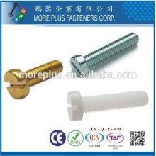 Tuyaux en acier inoxydable à haute qualité en acier inoxydable à la pointe de la machine à la tête de fromage DIN 84