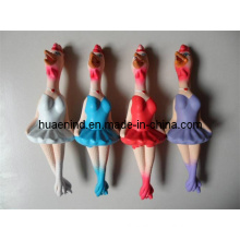 Squeaky Latex Chicken Dog Toy (HN-PT011)
