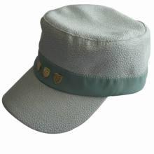 Custom High Quality Flat Top Cap, Army Military Hat