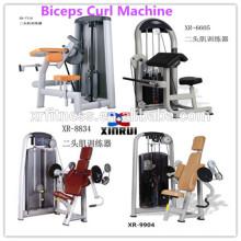 Brand new Pin Loaded Bíceps Curl Máquina / Arm Curl equipamentos de fitness para venda / força comercial equipamentos de ginástica na China