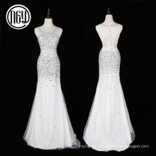 Оптовая новейшие уникальные кристалл bling свадебные платья для невесты