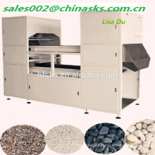 CCD camera intelligent belt type Calcium carbonate color separator,color sorter machine with high capacity for mineral plant