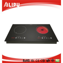 2015 Two Burner Electric Stove Top Manual Induction Cooker