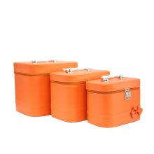 Bright Orange Bag Make up Bag High Quality