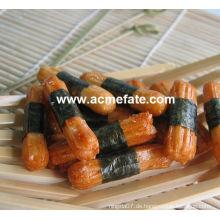 Heißer Verkauf Coloorful und leckere Algen-Reis Crakers