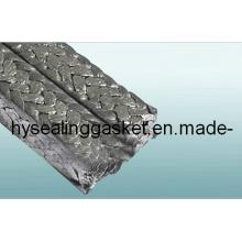 Emballage PTFE en fibre acrylique avec traitement graphite