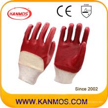 Противотуманные ПВХ-оцинкованные перчатки для промышленной безопасности (51101)