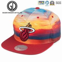 2017 Haute Qualité Sublimation Impression Coloré Nouveau Style Era Snapback Cap avec Broderie