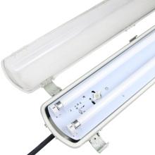 IP65 IK08 led tube waterproof light 600mm 1200mm batten lighting for supermarket