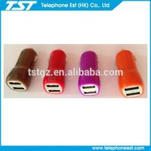 Cargador de coche USB de 2 puertos para teléfono inteligente / iphone