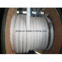 12-Strand Rope, Braided Rope, Mooring Rope