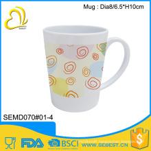 cheap price high quality melamine coffee mug with handle