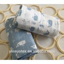 100% algodão musselina bebê lavar pano