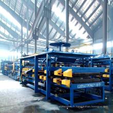 Xinnuo eps sandwich panneaux machines sandwich panneau de production ligne