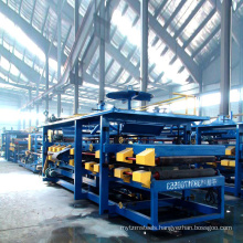 Xinnuo eps sandwich panels machinery sandwich panel production line