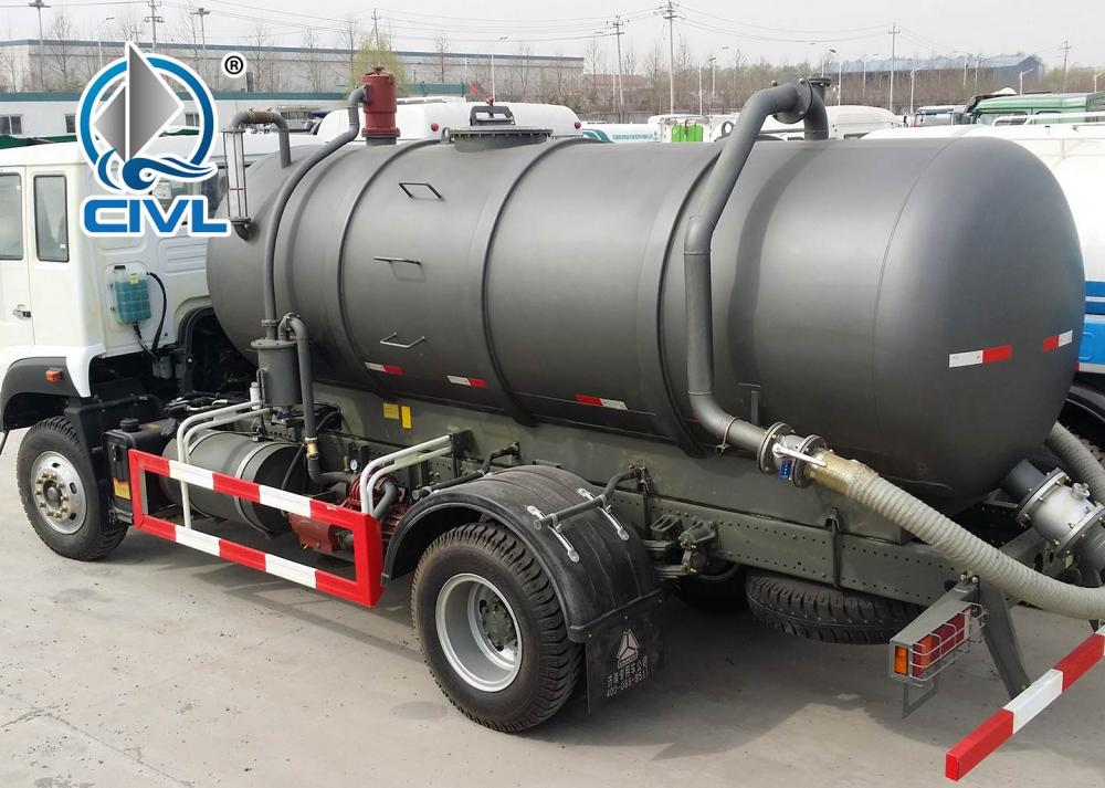 Sewage Suction Truck 20