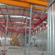 Linha de produção de fábrica de tinta spray líquida