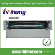 Rack de 19 polegadas montado ODF odf fibra óptica bandeja de distribuição