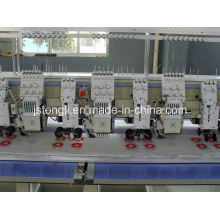 6 Heads Embroidery Machine Mixed with Cording Device (TL606+6)