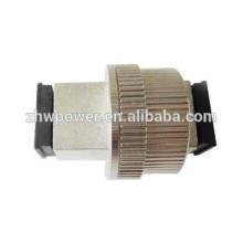 Flange tipo SC atenuador de fibra óptica