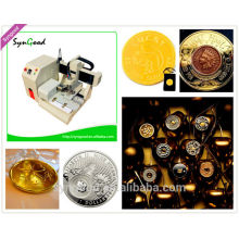 Metal Engraving Machine for Lucky Coin SG4040 USD2680
