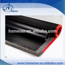 Pano de tecido de fibra de vidro revestido PTFE não-vara