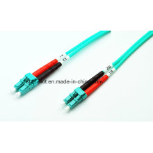 LC to LC Om3/Om4 Multimode Mode Fiber Optic Patch Cable