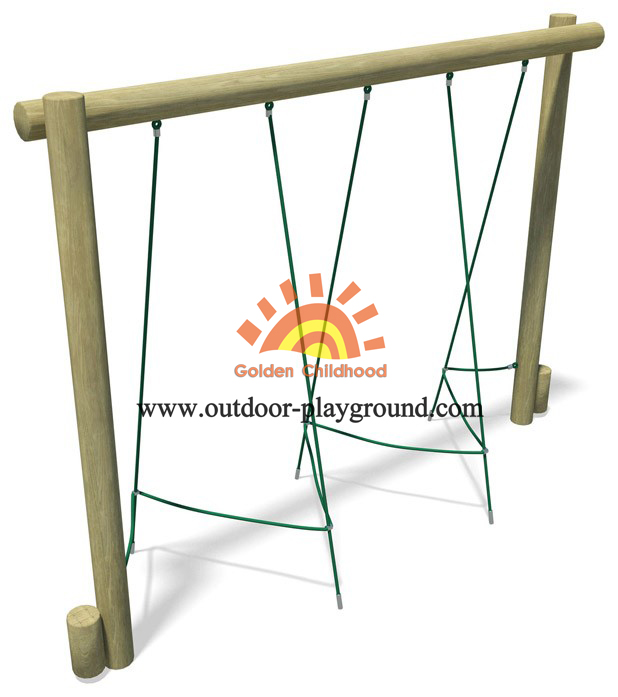 Rope Weaver Balance Playground Equipment