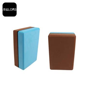 Коврик для йоги Melors EVA Yoga Blocks Extra Thick