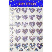 Laser/Hologram pvc sticker