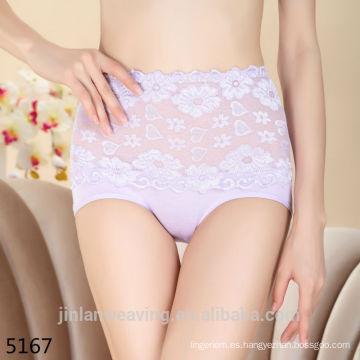 Forme a cordón la alta cintura que adelgaza panty zhudiman 5167 mujeres ropa interior femenina panty de la señora