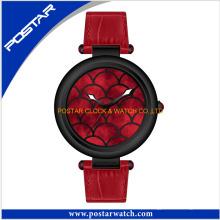Relógio de quartzo suíço do movimento superior para senhoras