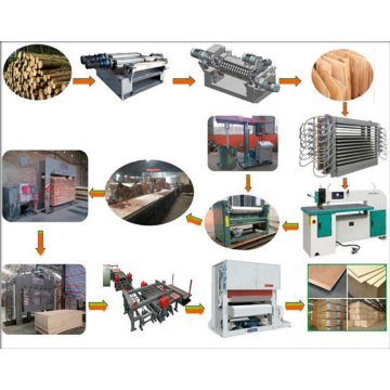 Plywood Production Line Making Machine