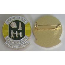 Pino de crachá de esmalte macio metal alta qualidade com pino de segurança (crachá-207)