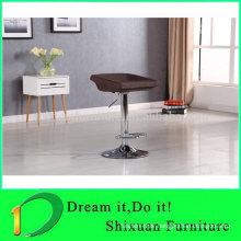 Liftable solid metal frame swivel bar chair