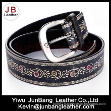 Hot Selling Fashion Ladies PU Embossed Belt