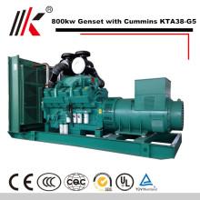 800KW/880KW GENERATOR SET WITH CUMMINS KTA38-G5 DIESEL ENGINE 1000KVA GENSET