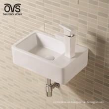 el fabricante de China colgó el molde de cerámica del fregadero del lavabo