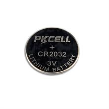 3v batería de litio recargable cr2032 con batería de reloj