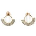 Neuer Entwurf für Perlen-Ohrring-925 silberne Schmucksachen der Frau (E6509)
