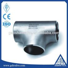 stainless steel pipe tee
