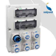 SAIP / SAIPWELL Boîte d'inspection IP66 portable de qualité supérieure / Boîtier d'alimentation