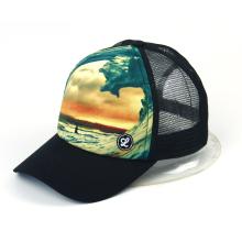 Sublimation printing mesh cap
