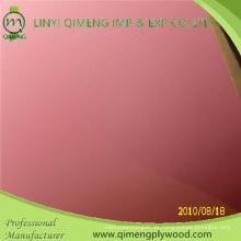Größe 4'x8 '1.6mm 2.2mm 2.6mm rosa Polyester-Sperrholz für Indonesien